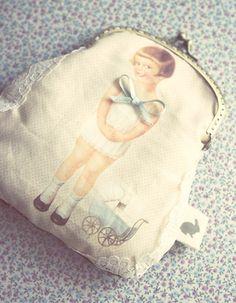 Paper Doll Purse