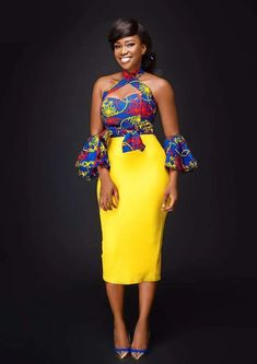 Let the Akosua Two Piece do the talking at a dinner date. Made with love by Afri-Ken by Nana. Order your Akosua Two Piece in our shop today. African Fashion Designers, African Print Fashion, African Fashion Dresses, Fashion Prints, Fashion Outfits, Fashion Styles, African Outfits, Fashion Ideas, African Clothes
