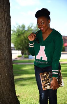Vintage Alpha Kappa Alpha Sweater! Yasssss