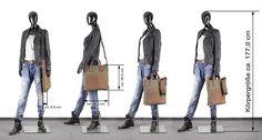 Damentasche Leder LEISURE getragen