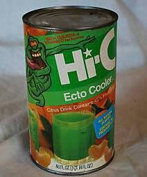 Okay two flashbacks here Ecto Cooler and those cans!! Remember?!?      ~D~