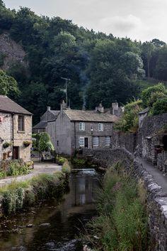 Castleton - Derbyshire, England, UK