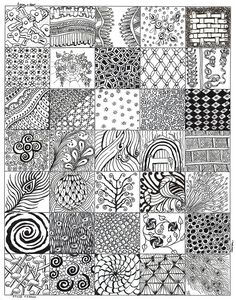 zentangle patterns - Google Search