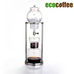 Iced Coffee Maker Dutch Cold Drip Coffee  5-8 Cups Iced Coffee Maker