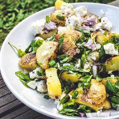 Grillattu perunasalaatti - 52 Weeks of Deliciousness