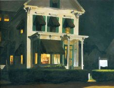 Rooms for Tourists (1945)- Edward Hopper