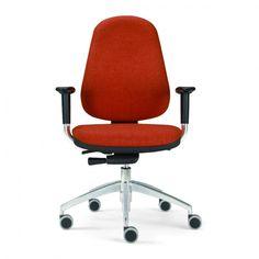 € 123,00 LOGOS #sconto 50% #sedia da #ufficio #certificata UNI EU 1335 B, in #offerta #prezzo #outlet su www.chairsoutlet.com