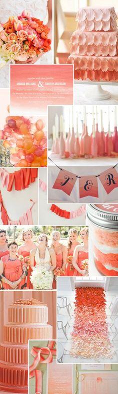 #sweets #cake #wedding #coral #love #bride #sposa #matrimonio #corallo #flowers #fiori