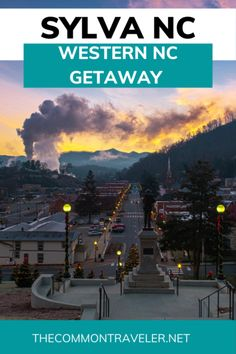Western NC Getaway: Best Things to do in Sylva NC | The Common Traveler Carolina Beach, North Carolina, Franklin Nc, Weekend Hiking, Us Destinations, Roadside Attractions, Travel Usa, Places To See, Westerns
