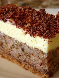 Čudo od jednog jajeta - The One Egg cake One Egg Cake, Croation Recipes, Slovak Recipes, Kolaci I Torte, Lava Cakes, Little Cakes, Sweet Cakes, Homemade Cakes, Cakes And More