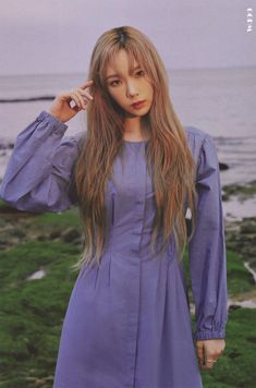 Yoona Snsd, Sooyoung, Taeyeon Wallpapers, Taeyeon Fashion, Kpop Fashion, Kim Tae Yeon, First Girl, Casual Summer Dresses, Best Face Products