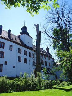 Nordflügel des Berleburger Schlosses, Parkseite.