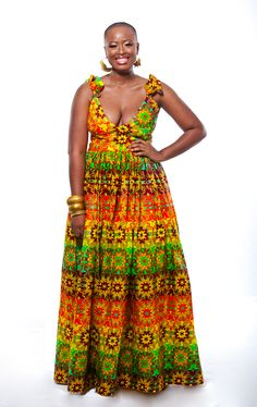 I absolutely love this dress! African Fashion Print by Printex Ghana. Africana fashion, African style, African Designs. Ghana Fashion. African Woman. Fashion design. Made in Africa.