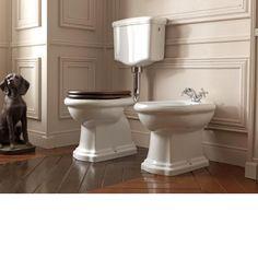 Albion Bath Company - Formello Low Toilet : Mooi Engelse stijl toilet.