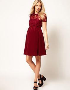 ASOS Maternity lace top dress