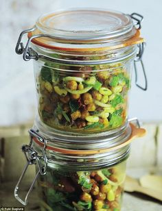 Truly Julie: Roasted chickpea & sun-dried tomato salad with herb dressing | Daily Mail Online