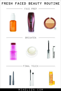 all natural makeup routine