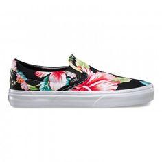 Kwiecisye Vansy #vans #slippers