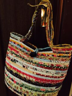 """Making a new """"End of Day"""" Quilter's Basket. Happy Mothers Day! These baskets are great fun to make. Whats more, it's using the strings ..."""