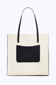 The Colorblock Grind Shopper Tote Bag   Marc Jacobs   Cloud White Multi Cow  Leather, 7fdc1fc3e4f9