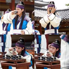 Kim Taehung (BTS V) at Hwarang [170102] wahhh so cute