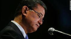 Veterans Affairs Secretary Eric Shinseki resigns