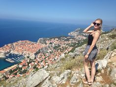 On the top of Dubrovnik