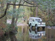 Land Rover 88 Serie IIA Soft Top Canvas Adventure.