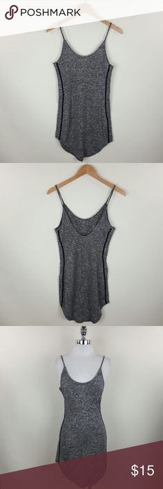 V back strappy dress V back strappy round hem dress Content 60% polyester35% rayon 5%spandex Dresses Mini