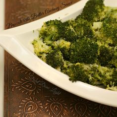 Me encantó este!  Brócoli con Ajo anchoa mantequilla www.fooddonelight.com