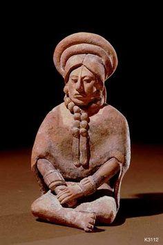 mini-girlz: Ancient Maya Figurines (Jaina, Mexico), n.d. Clay, 10.5 cm © Justin Kerr via >...