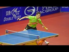 World Tour Grand Finals Highlights: Ma Long vs Xu Xin (Final)  Left-hander Xu Xin World #2 vs right-hander World #1 in the World Tour Grand Finals. Anyone who has ever played knows how extraordinary their playing really is. Controlling high adrenaline and focusing with great precision. See how agile and athletic each shot is. Keep your eye on the left-hander. #LefthandersIntl - http://Left-handersInternational.com