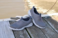 Rugged Shark Aqua Mesh 2:  This sport shoe is extremely lightweight - less than 12 oz. per pair! #ruggedshark #boatshoe #fishing