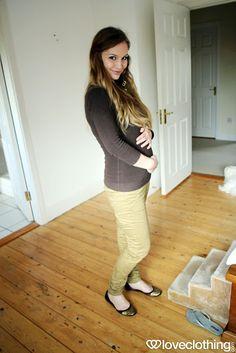 Anna Saccone: Maternity Style