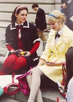 gossip girl Jenny & Blairの画像 プリ画像