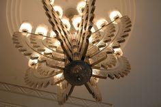 Art Nouveau; Ceiling Light by René Lalique.