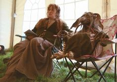 Wendy Froud with Mother Leap