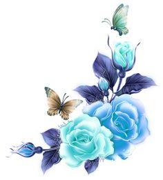 roses and butterflies corner Butterfly Wallpaper, Butterfly Art, Colorful Wallpaper, Decoupage Vintage, Decoupage Paper, Flower Frame, Flower Art, Fabric Paint Designs, Rosalie