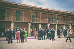 Gran espacio para recepción de invitados. Casona de las Fraguas