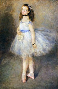 "Pierre-Auguste Renoir ~ ""Dancer"" (1874)http:/..."