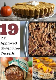 19 Registered Dietitian Approved Gluten Free Desserts