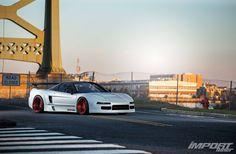 Honda NSX | Honda | NSX | sports cars | fast cars | Honda photos | white Honda