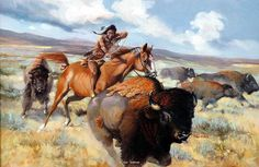 """""""Tatanka"""" Sioux word for Buffalo ~  by Les LeFevre"""
