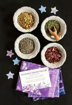DIY: Dream Pillows #sewing #herbs #aromatherapy