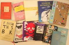 Journal Collection #artjournal #artjournals #wreckthisjournal #smashbook #kerismith