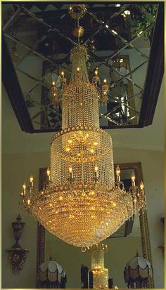Large Crystal Chandeliers Gallery Model: 3045 E 48