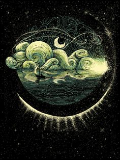 James R. Eads, 1989   Surrealist Illustrator   The New-Age Van Gogh   Tutt'Art@   Pittura * Scultura * Poesia * Musica  