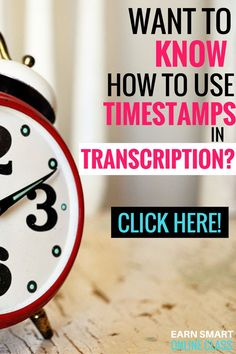 Do you want to know how to use timestamps in transcription? If you do, then you are at the right place. This detailed post will show you in detail how to insert time stamps the right way in transcription. #transcription #inserttimestamps #transcriptionguides
