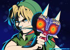 I Shall Consume Everything... by Sage-of-Winds - #Zelda Majora's Mask fanart.