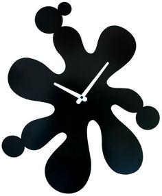 Horloge murale Splash sur Jardindeco Wall Design, House Design, China Products, Clock Ideas, Wood Clocks, Decoration, Louvre, Home Decor, Craftsman Clocks